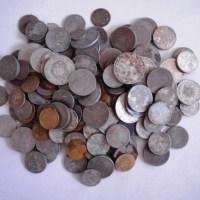Monede din epoca comunistă şi modernă descoperite in 2011