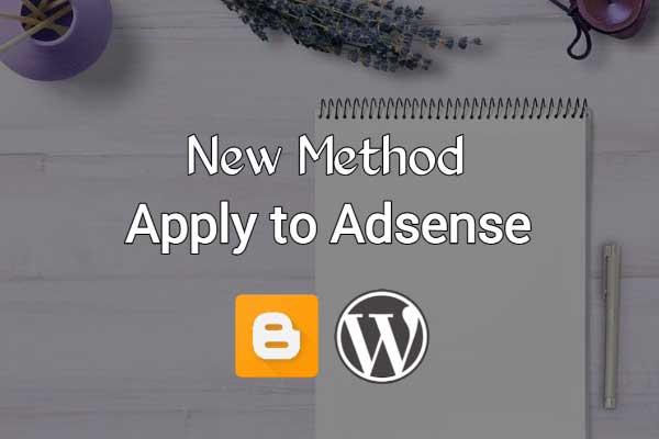 Add Site Method For Apply Adsense - Blogger