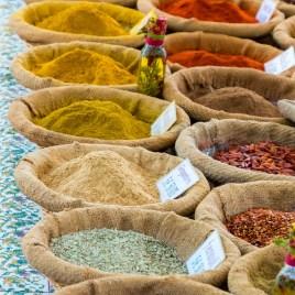 grüner Cilantro Curry, gemahlen