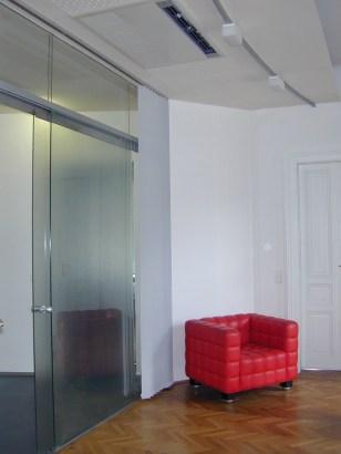 Büro Innengestaltung, Sacha