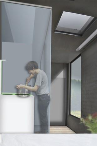 Kleinstwohnunganlage Inneraum
