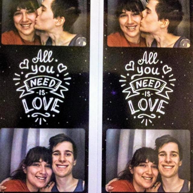 Love is great but photo booths are also pretty essentialhellip
