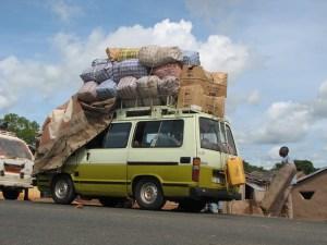À la frontière entre Burkina et Bénin