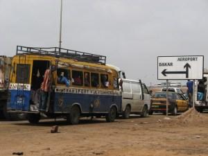 Dakar, en route vers l'aéroport