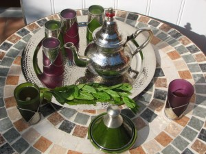 Service à thé du Maroc
