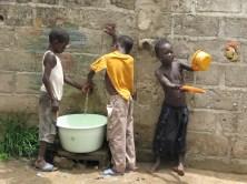 Autour du robinet