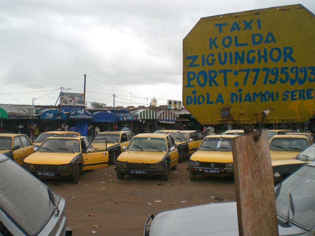Gare routière de Kaolack Nioro