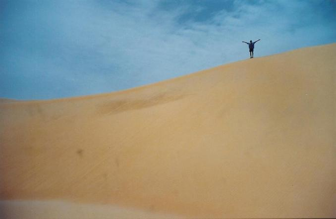 Amath au sommet de la dune