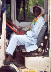 Hassan au volant