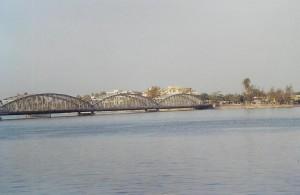 Saint Louis, le pont Faidherbe