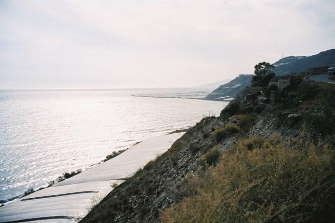 La mer de plastique sur la côte espagnole