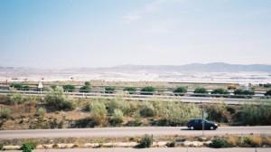 La mer de plastique le long de l'autovia espagnole