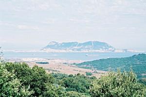 Le rocher de Gibraltar