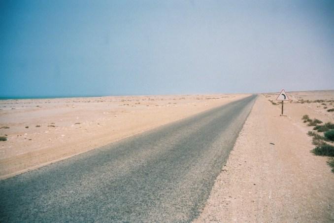 Le bitume du sud marocain...