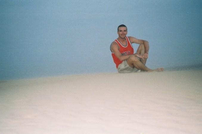 Seul sur ma dune...