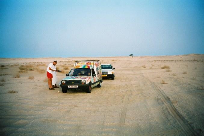 """Notre """"convoi"""" dans le désert mauritanien"""