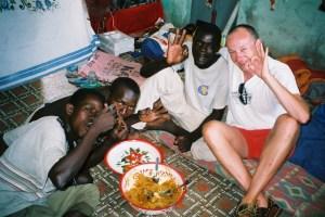Chez les amis du Wolof à St Louis (Sénégal)