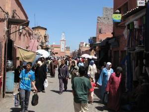 Marrakech, quartier berbère