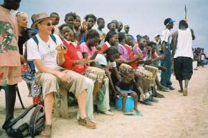 À la rencontre des habitant de N'Dangane avec Philou