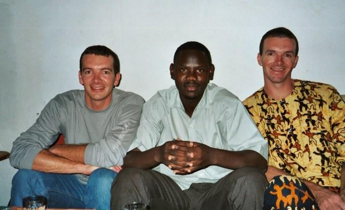Retrouvailles avec Bachir à St Louis en décembre 2002