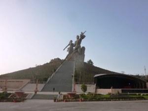 Monument de la Renaissance Africaine à Dakar