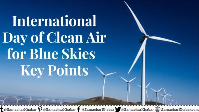 International Day of Clean Air - Key Points