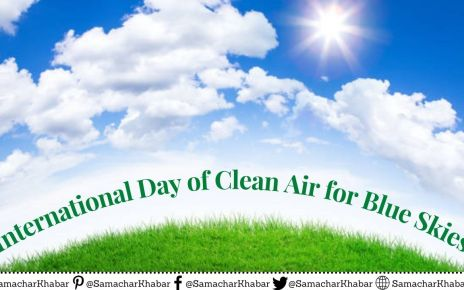 International Day of Clean Air for Blue Skies Theme,Quotes,Facts,History