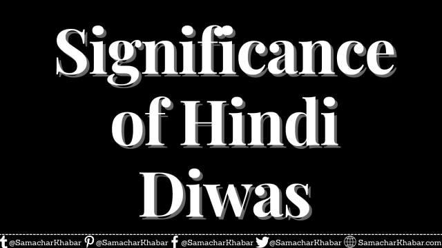 Significance of Hindi Diwas