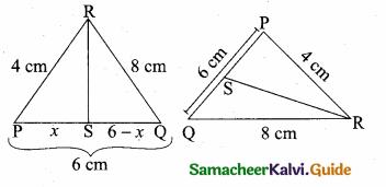 Samacheer Kalvi 10th Maths Guide Chapter 4 Geometry Additional Questions 2
