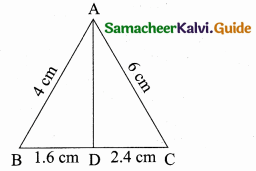 Samacheer Kalvi 10th Maths Guide Chapter 4 Geometry Additional Questions 33