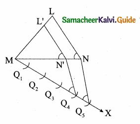 Samacheer Kalvi 10th Maths Guide Chapter 4 Geometry Ex 4.1 12