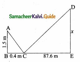 Samacheer Kalvi 10th Maths Guide Chapter 4 Geometry Ex 4.1 3