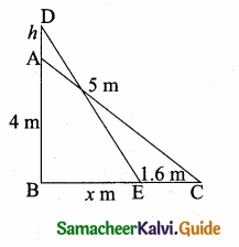 Samacheer Kalvi 10th Maths Guide Chapter 4 Geometry Ex 4.3 10