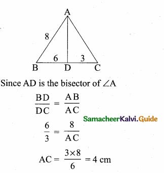Samacheer Kalvi 10th Maths Guide Chapter 4 Geometry Ex 4.5 7