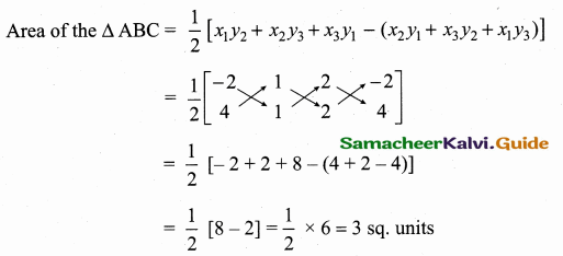 Samacheer Kalvi 10th Maths Guide Chapter 5 Coordinate Geometry Additional Questions 25