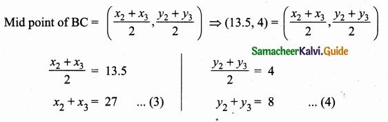 Samacheer Kalvi 10th Maths Guide Chapter 5 Coordinate Geometry Ex 5.1 22