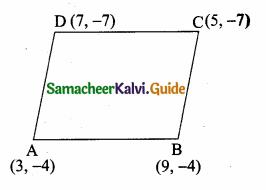 Samacheer Kalvi 10th Maths Guide Chapter 5 Coordinate Geometry Ex 5.2 11