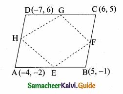 Samacheer Kalvi 10th Maths Guide Chapter 5 Coordinate Geometry Ex 5.2 12