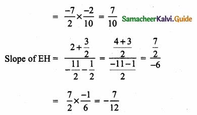 Samacheer Kalvi 10th Maths Guide Chapter 5 Coordinate Geometry Ex 5.2 16