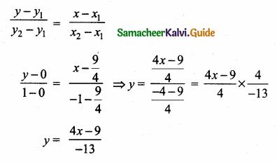 Samacheer Kalvi 10th Maths Guide Chapter 5 Coordinate Geometry Ex 5.4 13