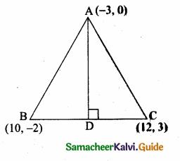 Samacheer Kalvi 10th Maths Guide Chapter 5 Coordinate Geometry Ex 5.4 2