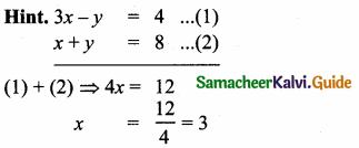 Samacheer Kalvi 10th Maths Guide Chapter 5 Coordinate Geometry Ex 5.5 4