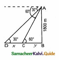 Samacheer Kalvi 10th Maths Guide Chapter 6 Trigonometry Ex 6.3 4