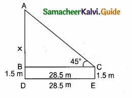 Samacheer Kalvi 10th Maths Guide Chapter 6 Trigonometry Additional Questions 10