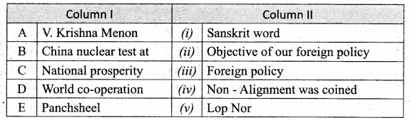 Samacheer Kalvi 10th Social Science Guide Civics Chapter 4 India's Foreign Policy 3