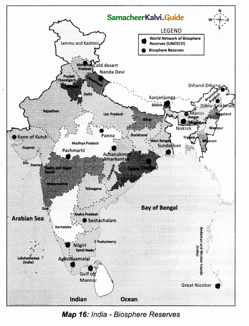 Samacheer Kalvi 10th Social Science Guide Geography Chapter 2 Climate and Natural Vegetation of India 6