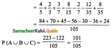 Samacheer Kalvi 10th Maths Guide Chapter 8 Statistics and Probability Additional Questions LAQ 15