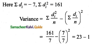 Samacheer Kalvi 10th Maths Guide Chapter 8 Statistics and Probability Additional Questions SAQ 5.1