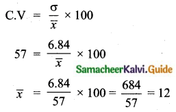 Samacheer Kalvi 10th Maths Guide Chapter 8 Statistics and Probability Additional Questions SAQ 8