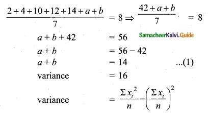 Samacheer Kalvi 10th Maths Guide Chapter 8 Statistics and Probability Ex 8.1 Q15.1